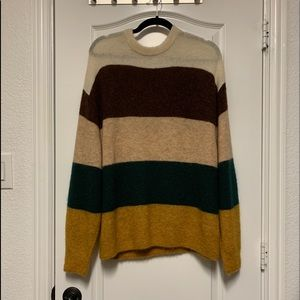 H&M color block sweater
